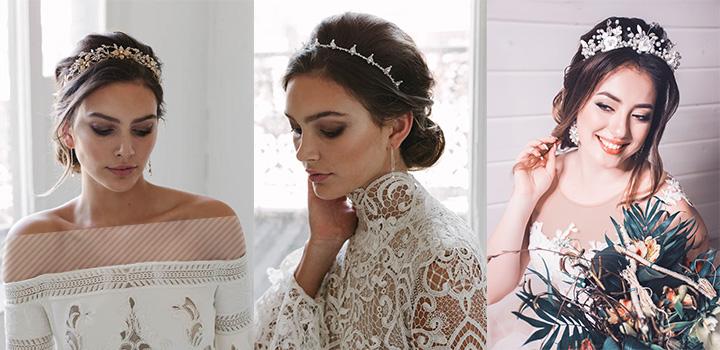 ست کردن تاج عروس با لباس