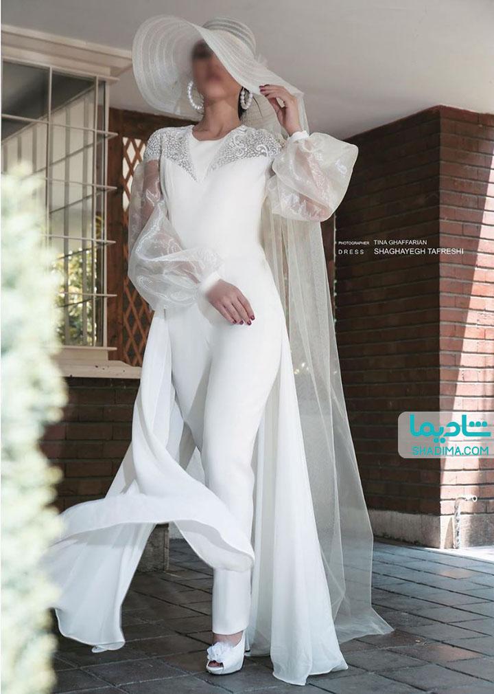 لباس پوشیده برای جشن عقد